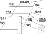 垂直格构式钢筋混凝土挡土墙施工工法