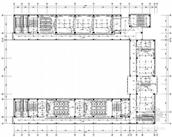[安徽]小学风雨操场、教学楼、科技楼及报告厅电气施工图纸(2015年7月完成设计)