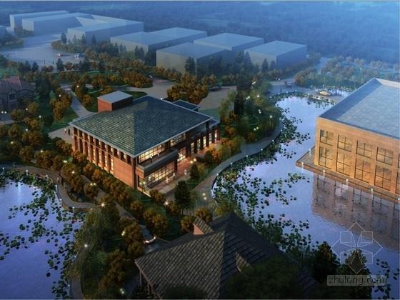 [北京]草原式風格生態會所建筑設計方案文本(知名設計院)