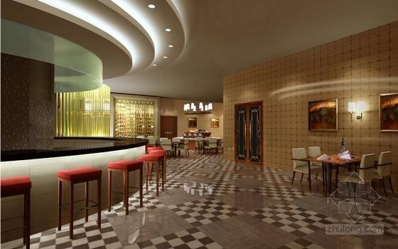 [宜昌]经济开发区核心地带五星级商务酒店方案设计 西餐厅