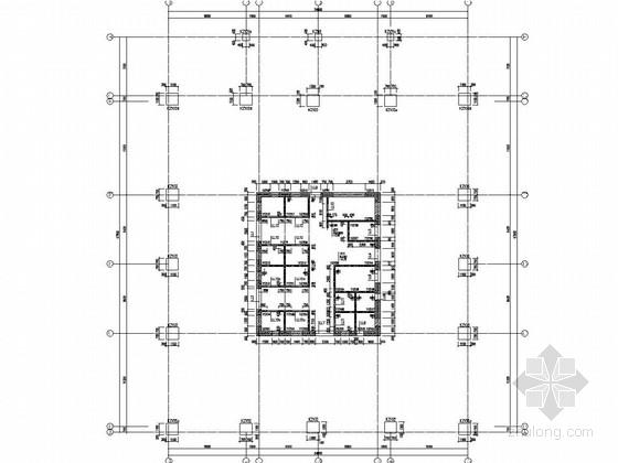 [江苏]39层框架核心筒结构超高层办公楼结构施工图