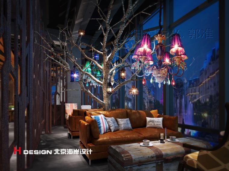 归本主义设计作品—上海漫猫咖啡馆设计案例_12