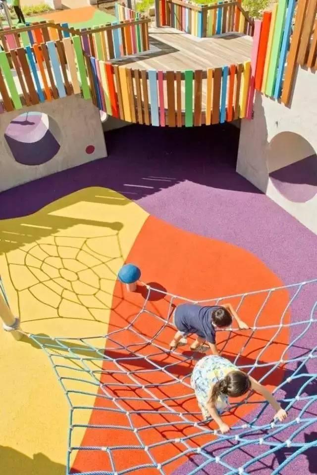 儿童景观铺装设计大全,玩出快乐!!