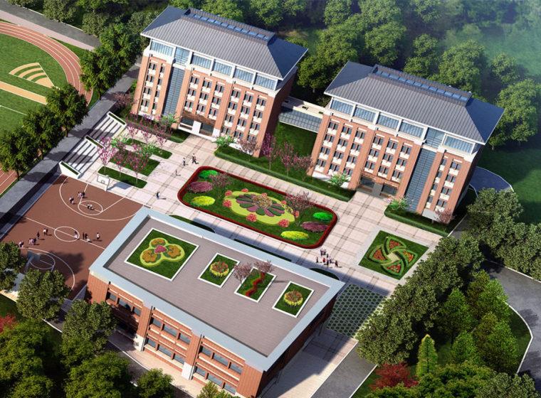 [湖南]多标段学校建设项目预算审核书(含招标文件及详细图纸)