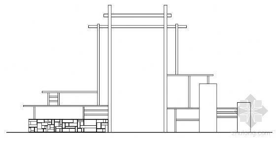 木作景门施工图