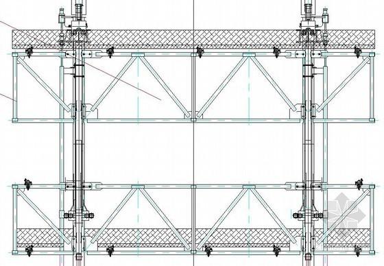 液压爬模体系施工节点详图