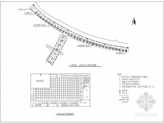 过江隧道西岸预应力连续梁桥施工组织设计106页(门形花瓶式墩 现浇箱梁)