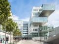竖向玻璃线条与钢结构的协作曲—Archimède办公室