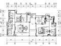 [重庆]高档小区售楼样板间室内设计装修施工图