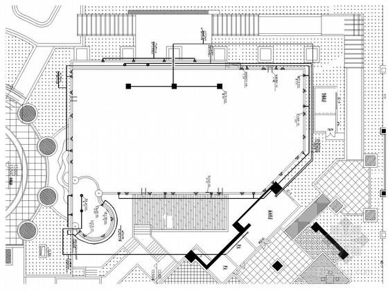 [深圳]室外游泳池水处理工程水电施工图纸