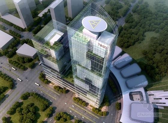 [唐山]高层特殊造型传媒文化办公中心建筑设计方案文本