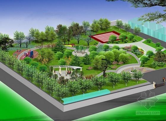 [预算入门]园林绿化工程定额计价与清单计价实操讲义(附图计算450页)
