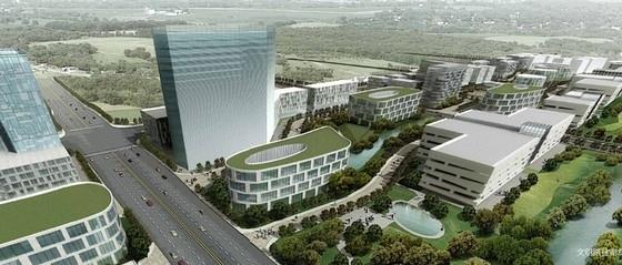 [北京]现代风格科技园规划设计方案文本