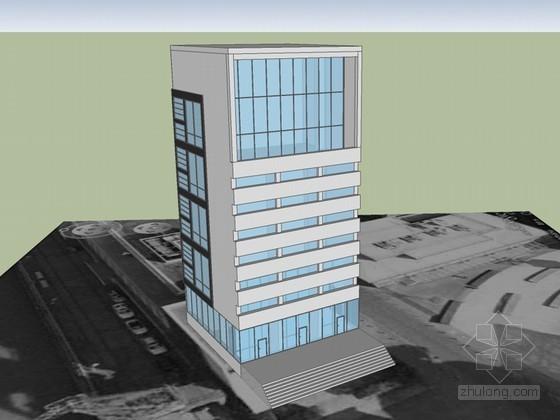 综合建筑SketchUp模型下载