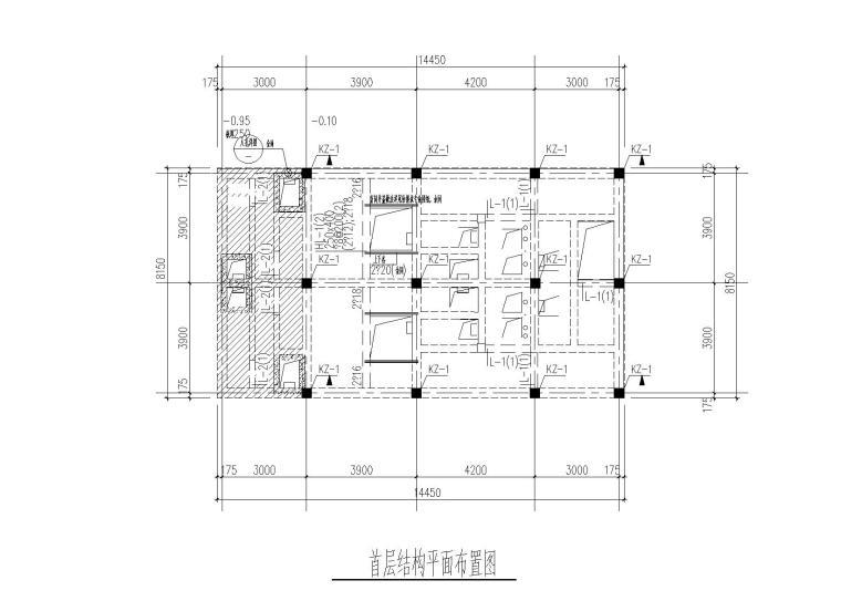 [北京]门卫、污水处理站结构施工图(2015)