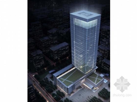 [湖北]29层现代风格退台式科技办公建筑设计方案文本(知名设计院 多种方案)