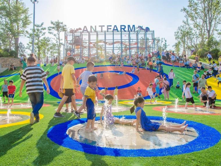 景观设计儿童活动场地改如何做?(文末附15套儿童活动场地资料)