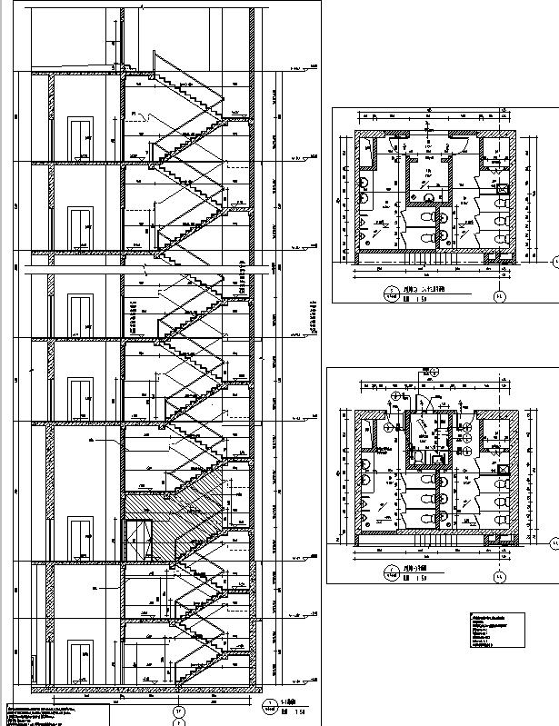 [上海]13栋装置框剪图纸住宅建筑全高层施工图专业华丽的莫尔登结构图片