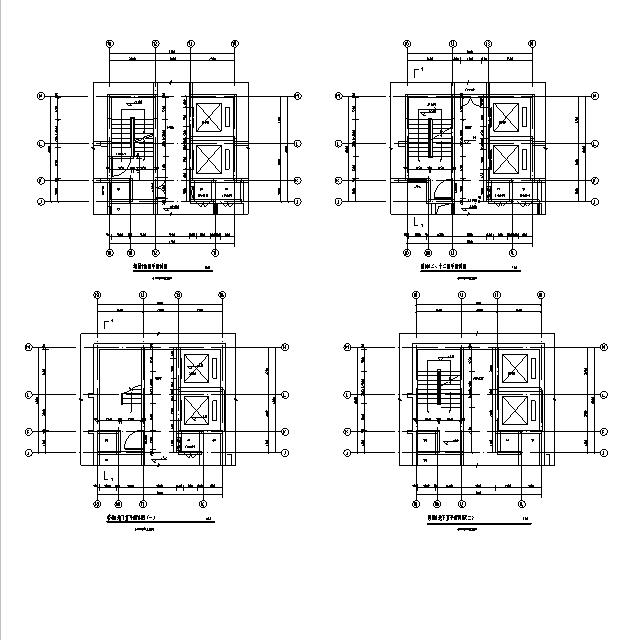 [海南]高层全专业审图后住宅建筑施工图(含全专业及车库)_11