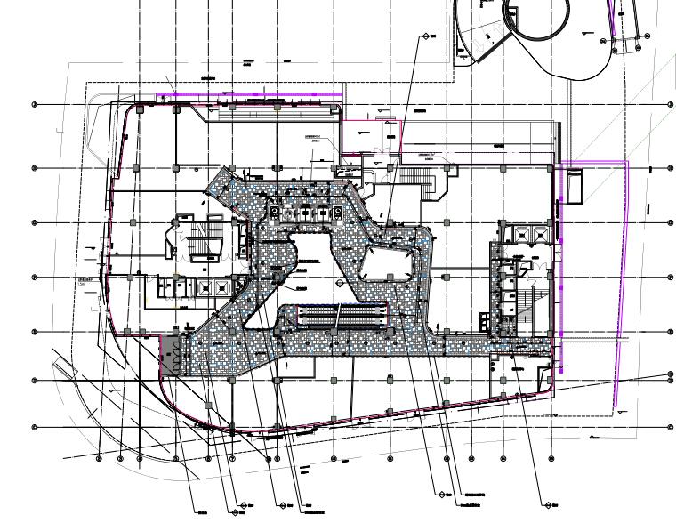 [上海]荷兰UNStudio-西康∙189弄购物中心(大自鸣钟广场)丨效果图+精装修施工图+机电图+标识