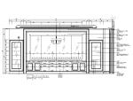 [浙江]某法式餐厅施工图及效果图
