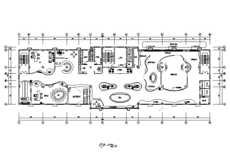 现代时尚产品展厅装修设计施工图(附效果图)