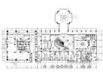 新中式大型休闲会所室内装修施工图(附效果图)