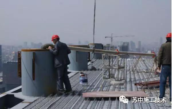 钢管柱高抛自密实混凝土辅助性振捣施工技术_3