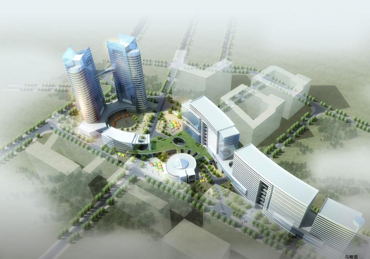 [广东]深圳科技创意产业园建筑设计方案文本