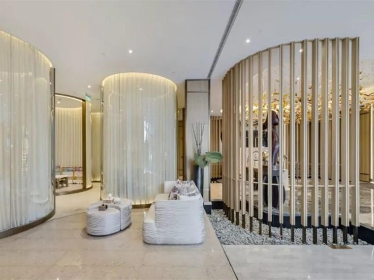 上海翡丽甲第住宅区内的会所空间