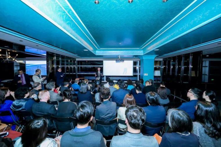 英国皇家建筑师协会(RIBA)在上海举办主席招待会