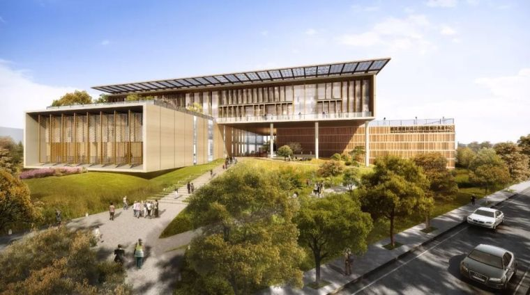 台南图书馆国际设计竞赛结果公布!BAF事务所城镇化理念获胜