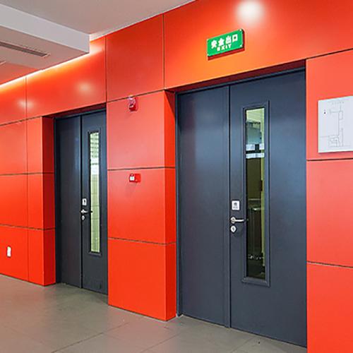 防火门、防火窗和防火卷帘的安装与调试