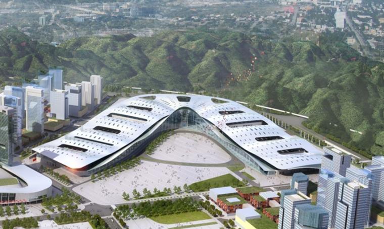 [四川]博览城项目钢结构及金属屋面施工技术交流汇报PPT(61页)