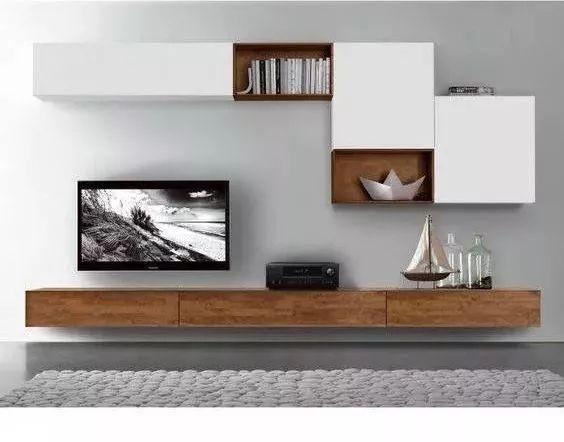 2018年电视背景墙流行这样设计~_34