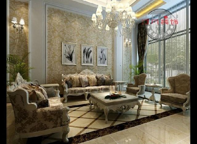 汀凡装饰案例--绝美欧式风格知名地产260平米