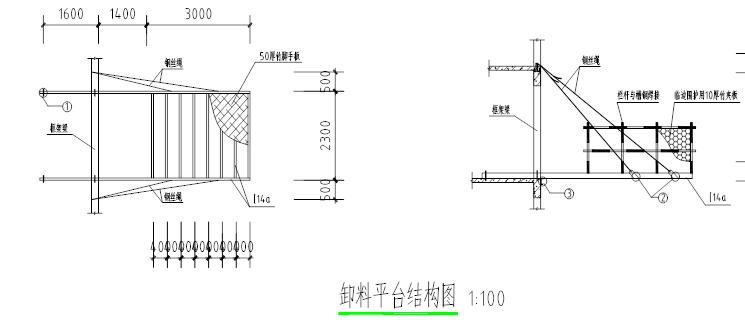 金域中央街区地块悬挑卸料平台专项施工方案(30页)