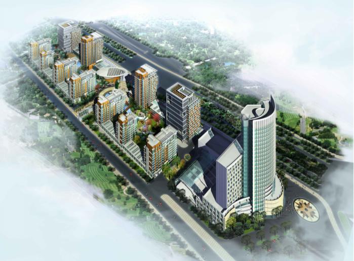 [吉林]万豪项目住宅小区建筑规划设计方案文本