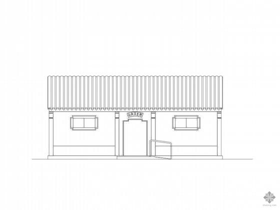 [合集]20套建筑小品——公厕建筑施工图及方案文本_3