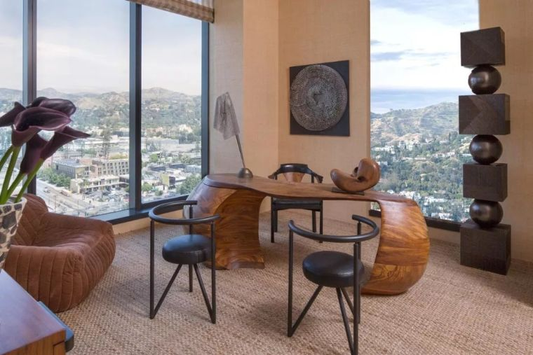 好莱坞的酒店公寓,奢华的画风都变了……_46