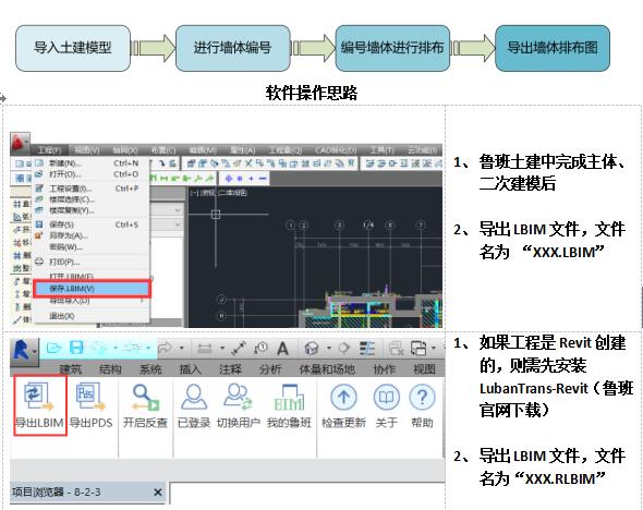 BIM施工应用点实施手册模板砌体排布