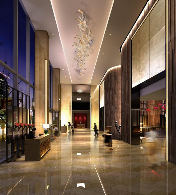 绿地济南高铁酒店室内设计方案(含效果图)_6