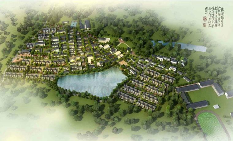上吴村美好乡村建设规划景观方案设计PDF(100页)