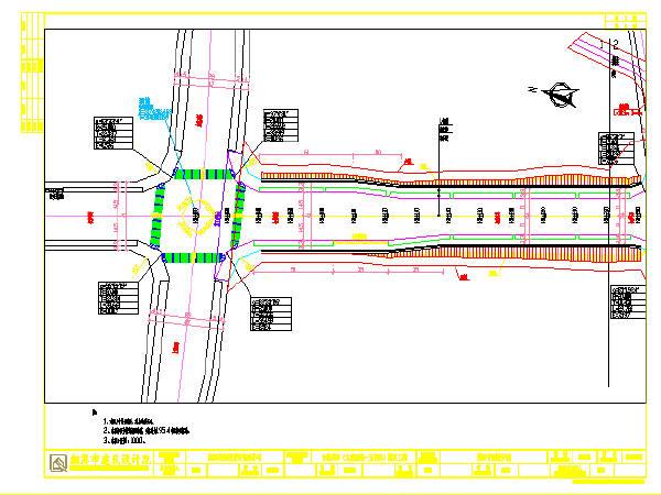 道路施工布置设计图(共95张)_1