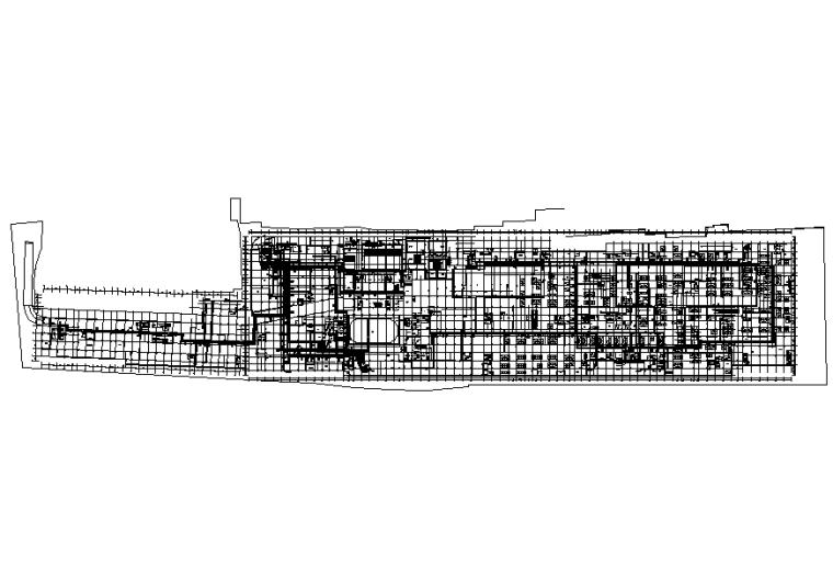 河北大型商业综合体地下室暖通设计施工图
