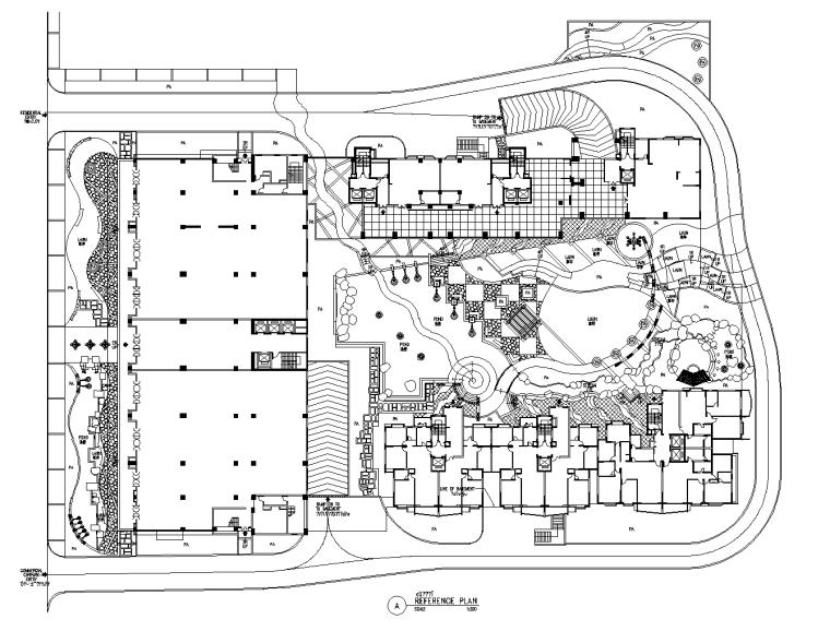 [江苏]南京金陵御景园全套居住区景观CAD施工图