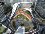 这才是真的「体育公园商业」| 三益设计 · 重庆中建耐德山花商业