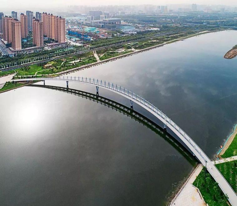 """太原""""汾河之冠""""人行景观桥,尽展结构技艺之美!_21"""