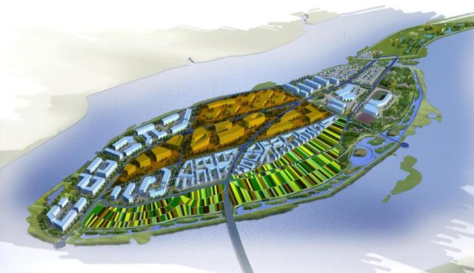 [四川]二洲生态湿地公园、圣平岛概念性规划方案设计