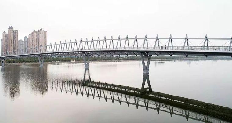 """太原""""汾河之冠""""人行景观桥,尽展结构技艺之美!_16"""